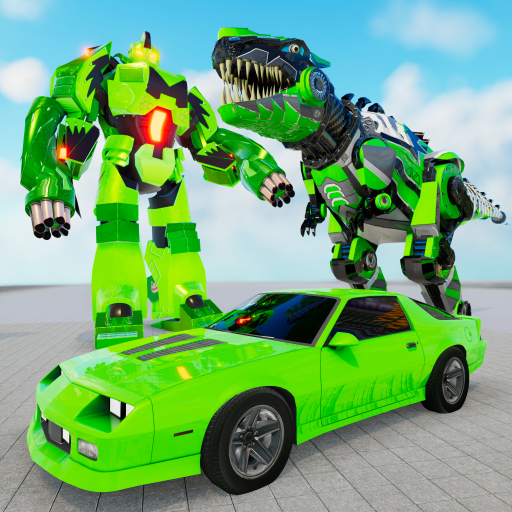 MegaBot Robot terbang dan transformasi mobil