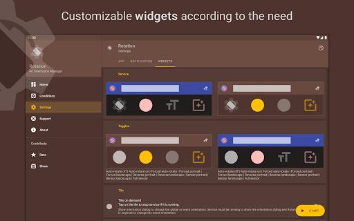 Rotation | Orientation Manager apktram screenshots 22