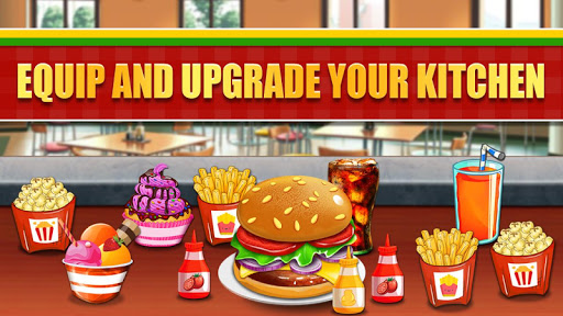 Fast Food  Cooking and Restaurant Game android2mod screenshots 14
