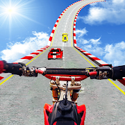 Bike Stunt Games 2021 : Bike Racing Games 3D Moto