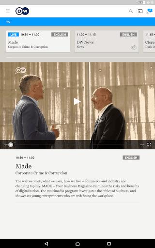 DW - Breaking World News 2.6.3 Screenshots 12