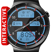 Chrome LED HD Watch Face Widget & Live Wallpaper