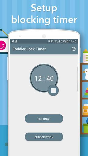 Toddler Lock Timer - For Kids under 6 3.2.3 Screenshots 2