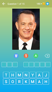 Hollywood Actors: Guess the Celebrity — Quiz, Game 2.21