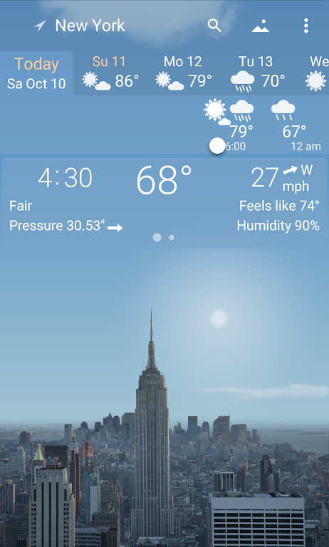 YoWindow Weather - Unlimited  poster 0