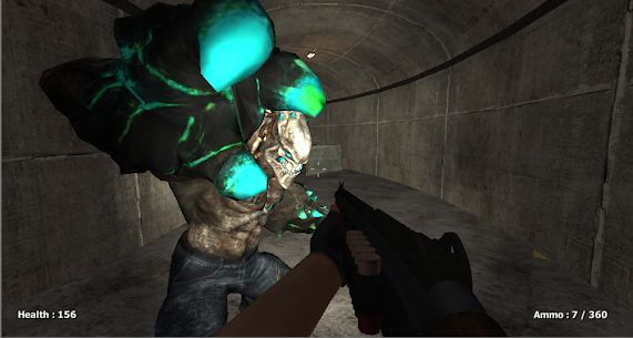 Zombie Evil Kill 6 Mod Apk- Horror Bunker (God Mode) 1