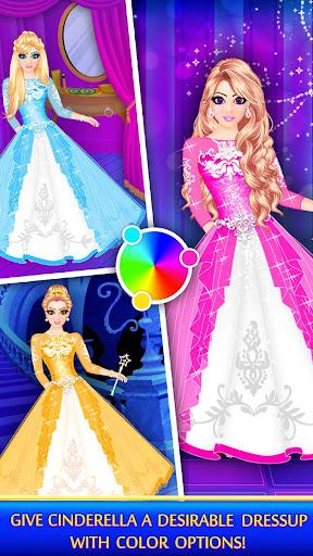 Cinderella Beauty Makeover : Princess Salon 1.8 screenshots 8
