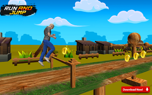 Stuntman Mega Bike Ramp Car Game Screenshot 2