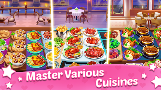 Cooking Sweet : Home Design, Restaurant Chef Games 4