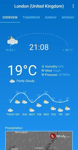 Weather Forecast (free & no ads) 1.33 Screenshots 8