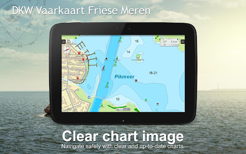 Vaarkaart Frisian Lakes