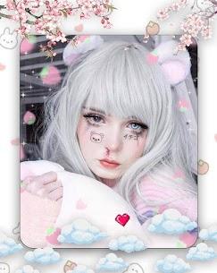 Live face sticker sweet camera Edit 3