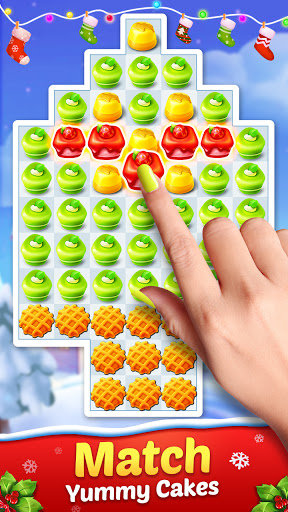 Cake Smash Mania - Swap and Match 3 Puzzle Game  screenshots 2