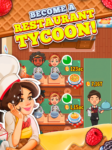 Spoon Tycoon - Idle Cooking Manager Game 2.0.3 screenshots 13