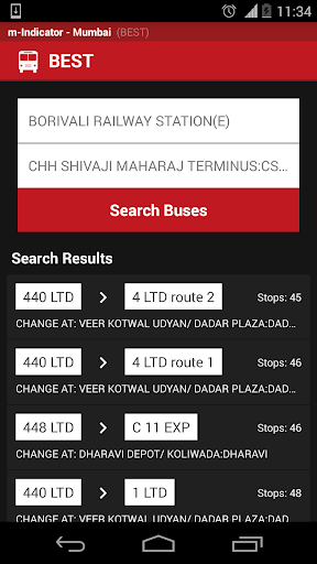 m-Indicator- Mumbai - Live Train Position 17.0.189 Screenshots 7