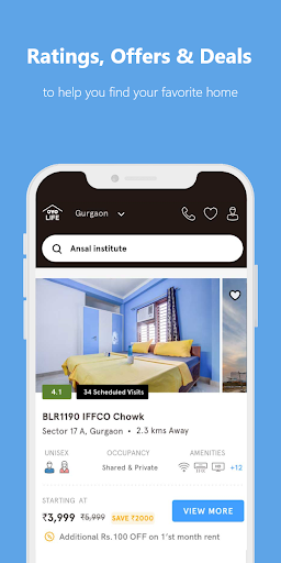 OYO LIFE: Rent Flats/PG, Furnished, Zero Brokerage apktram screenshots 4