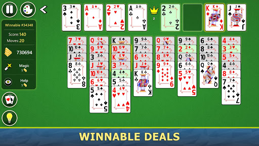 FreeCell Solitaire Mobile 2.0.7 screenshots 4