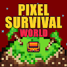 Pixel Survival World - Online Action Survival Game icon