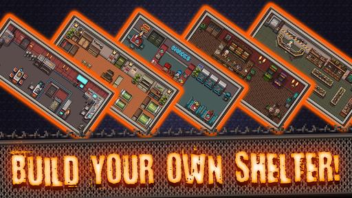 Idle Zombie Shelter: Build and Battle apkslow screenshots 16