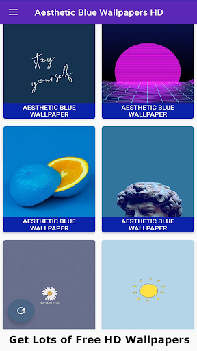 Aesthetic Blue Wallpaper 4K 1.3 screenshots 1