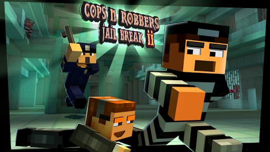 Cops N Robbers: 3D Pixel Prison Games 2 6