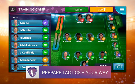 Women's Soccer Manager (WSM) - Football Management 1.0.42 screenshots 9