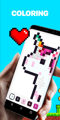 UNICORN u2013 Color by Number & Pixel Art Games screenshots 1