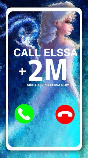 Call Elssa Chat + video call (Simulation) apktram screenshots 1