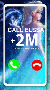 Call Elssa Chat + video call (Simulation) 14.0 screenshots 1