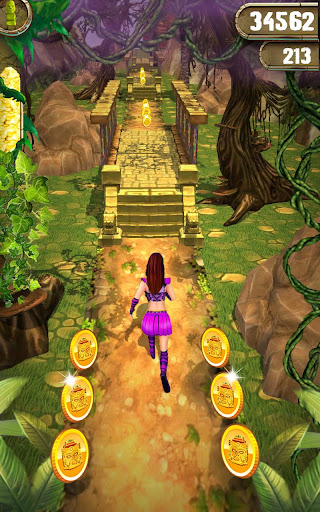 Scary Temple Final Run Lost Princess Running Game 4.2 screenshots 3