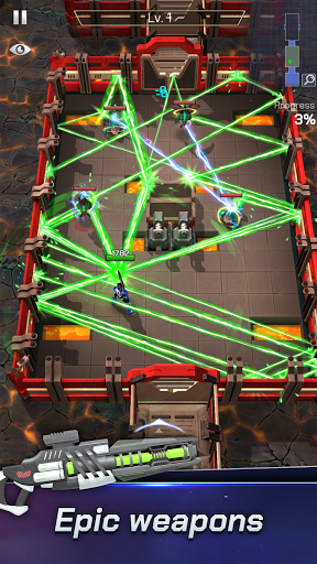 Spacelanders: Hero Survival - arcade shooter Apkfinish screenshots 3