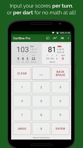 dartbee - darts scoreboard pro screenshot 2