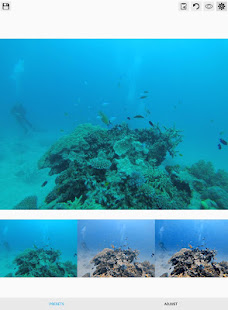 UwEdit - Underwater color restoration