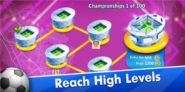 Fans of Soccer: Online Football Disc Challenge Screenshot