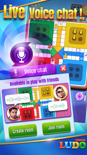 Ludo Comfun-Online Ludo Game Friends Live Chat screenshots 3