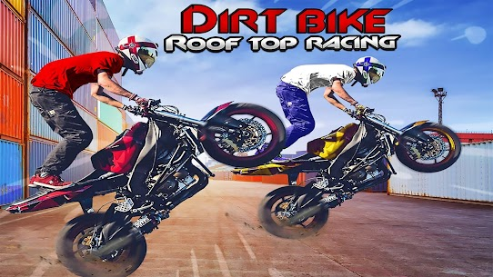 Dirt Bike Roof Top Racing Motocross ATV Race Games Mod Apk 1161046 (A Lot of Gold Coins) 4