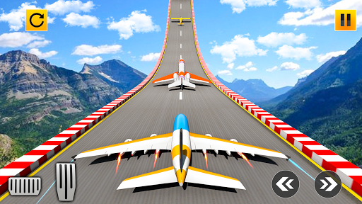 Plane Stunts 3D : Impossible Tracks Stunt Games apkmr screenshots 1