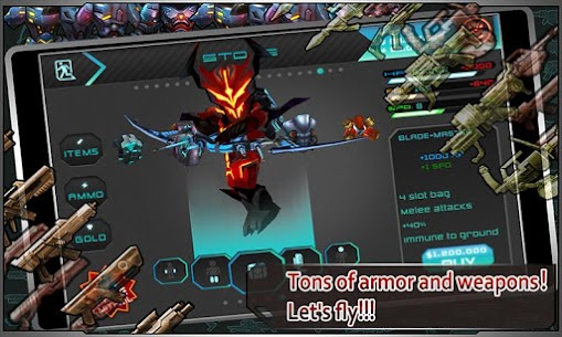 Star Warfare: Alien Invasion HD Mod Apk (God Mode + Unlimited Money) 4