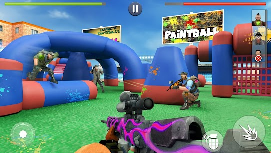 Paintball Shooting Games 3D Hack Online [Android & iOS] 1