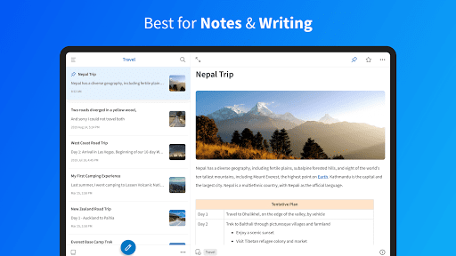 UpNote - notes, diary, journal