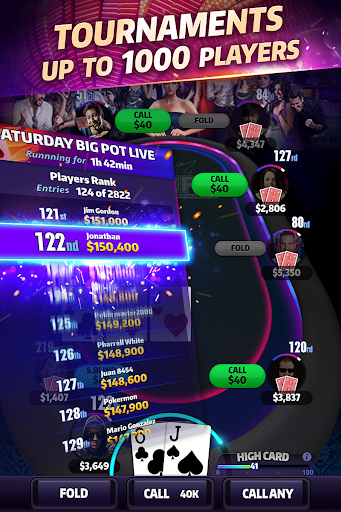 Mega Hit Poker: Texas Holdem 3.11.2 Screenshots 4