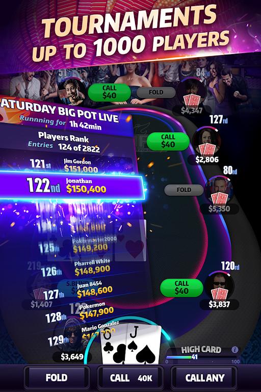 Mega Hit Poker: Texas Holdem  poster 3