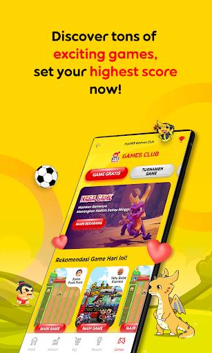 myIM3 u2013 Manage Airtime & Quota, Bonus up to 100GB apktram screenshots 1