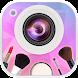 XFace:カメラセルフィー、ビューティーメイク、フォトエディター