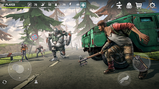 Dark Days: Zombie Survival Apkfinish screenshots 6