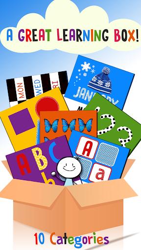 Kids Learning Box: Preschool 1.9 screenshots 1
