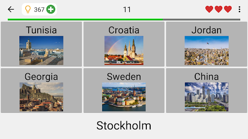 Capitals of All Countries in the World: City Quiz 3.1.0 screenshots 6