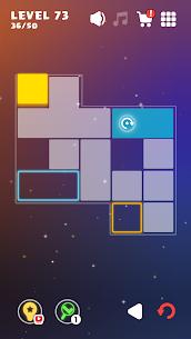 Move The Block : Perfect Slide Puzzle MOD APK 1.04 (No Ads) 6