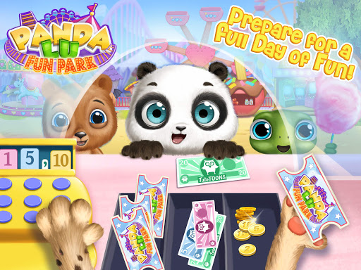 Panda Lu Fun Park - Amusement Rides & Pet Friends modavailable screenshots 14