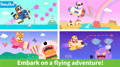 Baby Panda's Airplane modavailable screenshots 1